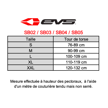 EVS SHOULDER SUPPORT SB04 /